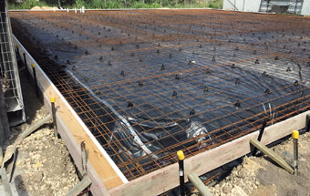 Byron Bay Steel Inspection for Slab