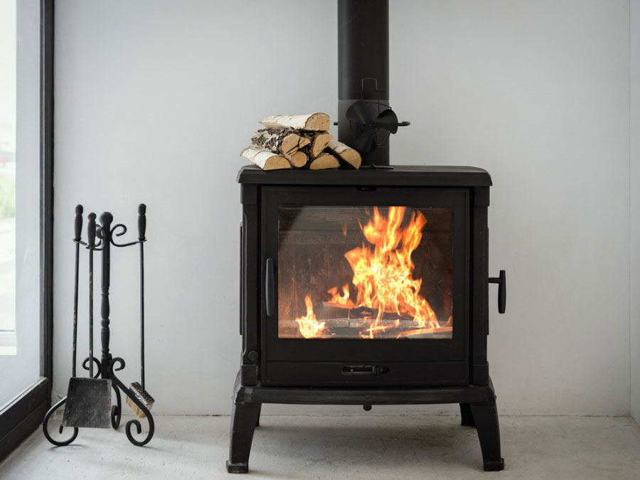 Wood burning fireplaces, wood heaters and solid fuel burning appliances.