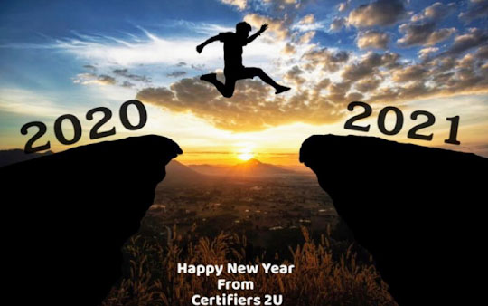 Happy New Year From Certifiers 2U