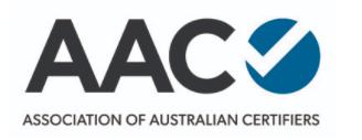 Association of Australian Certifiers